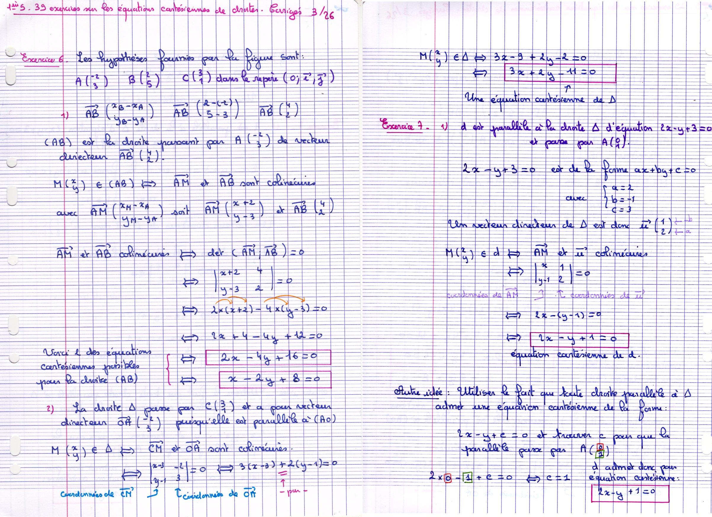 Mathematiques En 1ere Scientifique