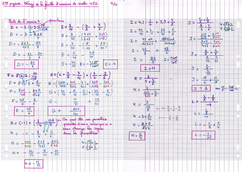 Cours De Mathematiques Page Des 2ndes