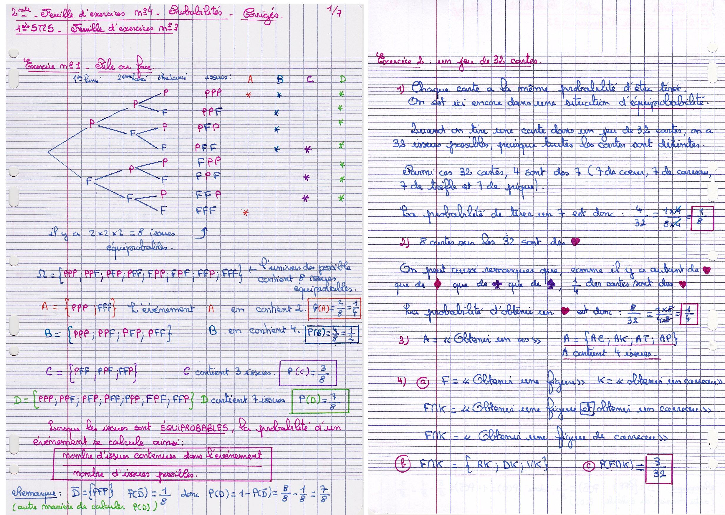 Cours de mathématiques - Page des 2ndes